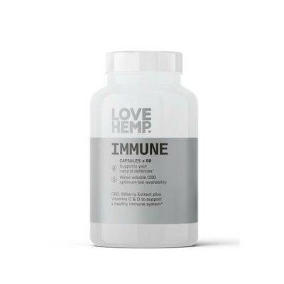 Love Hemp® Immune - 600mg CBD Vegan kapszula - 60db