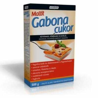 Interherb Gurman Gabonacukor - Maltit 500g